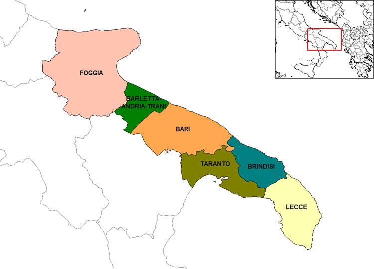Cartina Puglia Albania.Puglia Regione Puglia Vacanza Puglia Mare Puglia Informazioni Puglia Puglia Vacanza Offerte Puglia